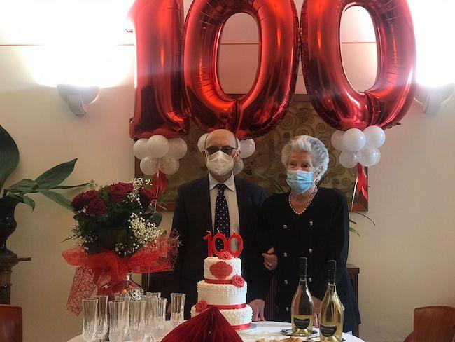nonna olga 100 anni