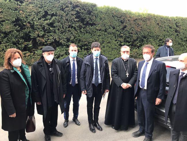 visita ministro Speranza a Giulianova