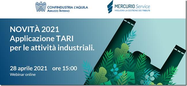 webinar Confindustria su Tari