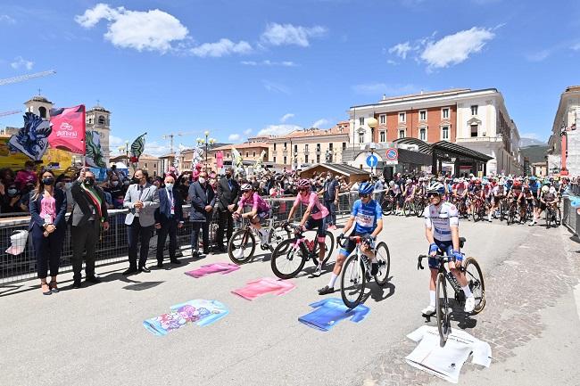 Partenza Giro d'Italia