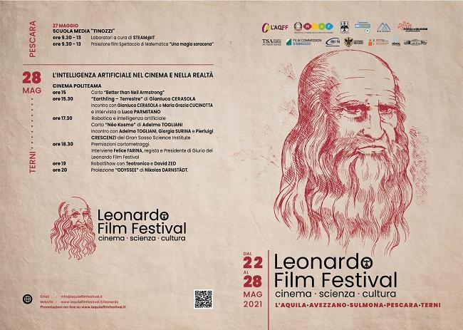 Leonardo Film Festival - fronte