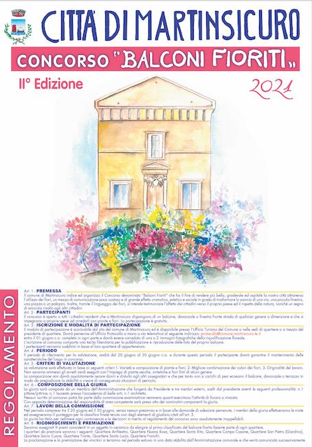 concorso balconi fioriti 2021
