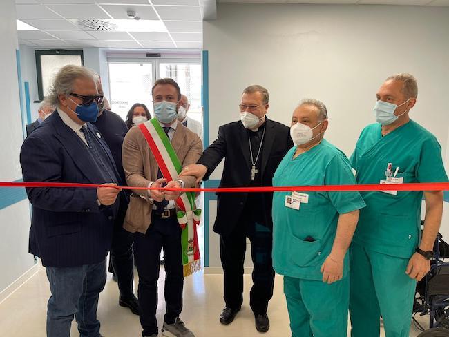 inaugurazione pronto soccorso giulianova