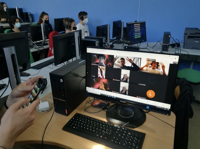studenti finalisti in dad green game digital