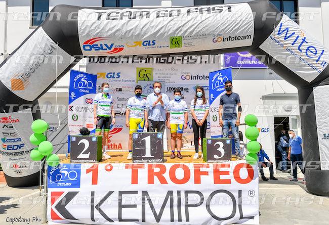 trofeo kemipol podio 2021
