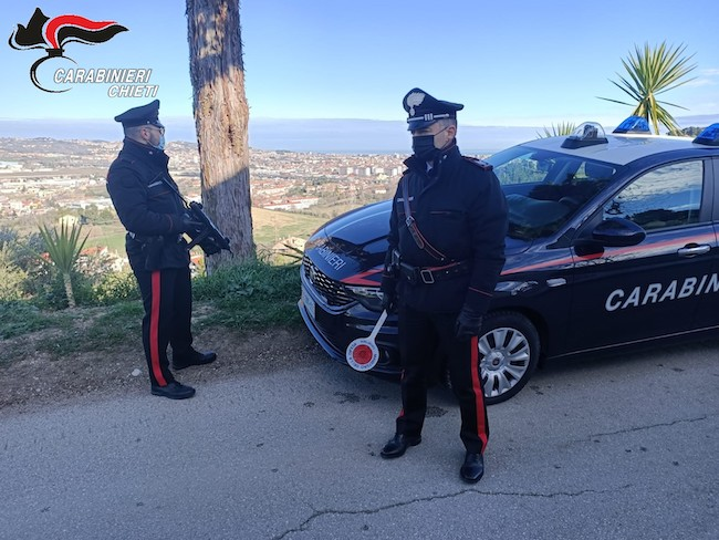 carabinieri sambuceto