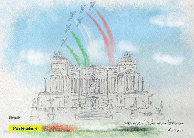 cartolina festa della repubblica