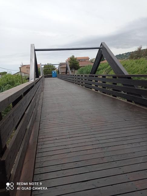 ponte ciclopedonale a silvi