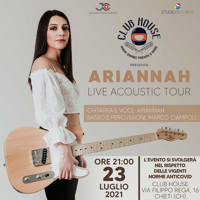 Ariannah Acoustic Live - 23_07_2021