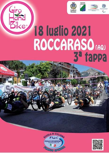 Giro Handbike Roccaraso 18072021 locandina