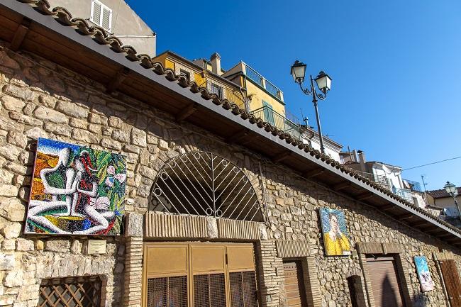 I mosaici di Tornareccio