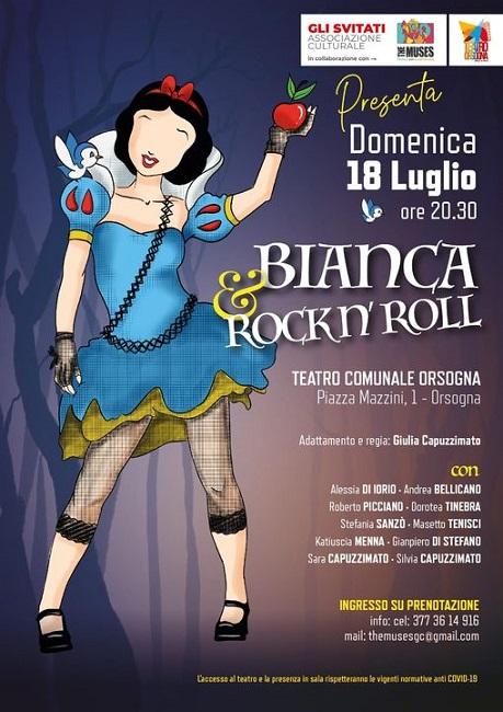 Locandina Bianca & Rockn'roll