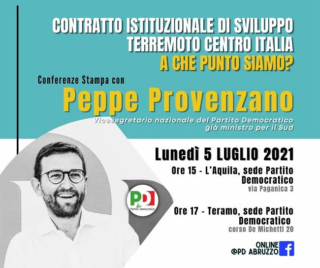 Locandina conferenze stampa 5 luglio 2021