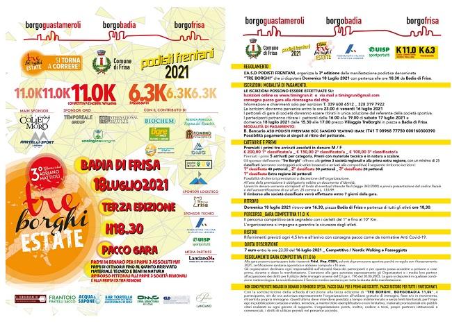 Tre Borghi 18072021 locandina