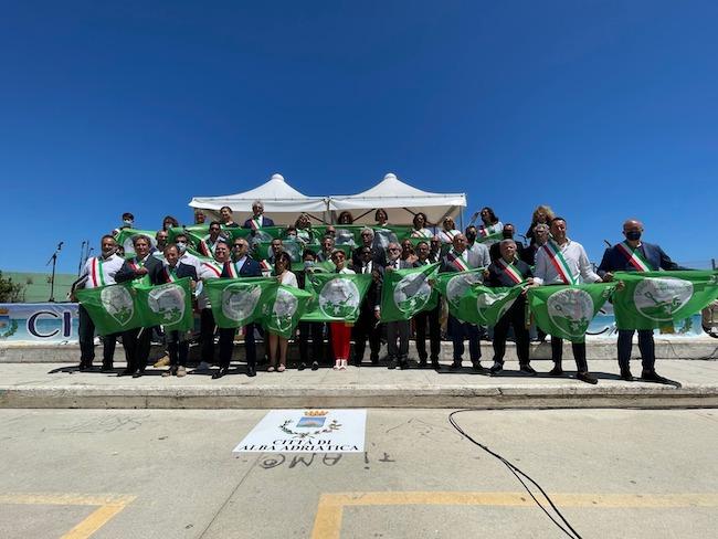 cerimonia bandiere verdi 2021