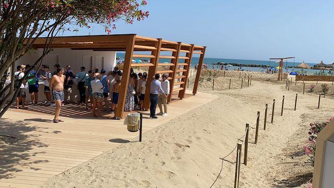 inaugurazione eco spiaggia
