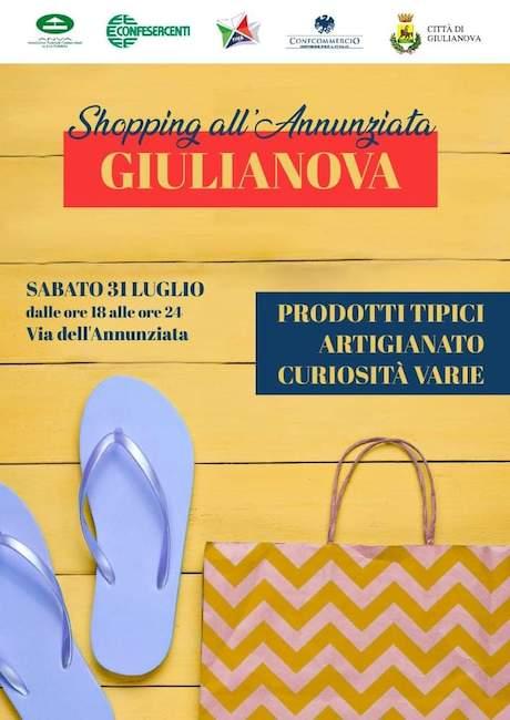 locandina shopping all'annunziata