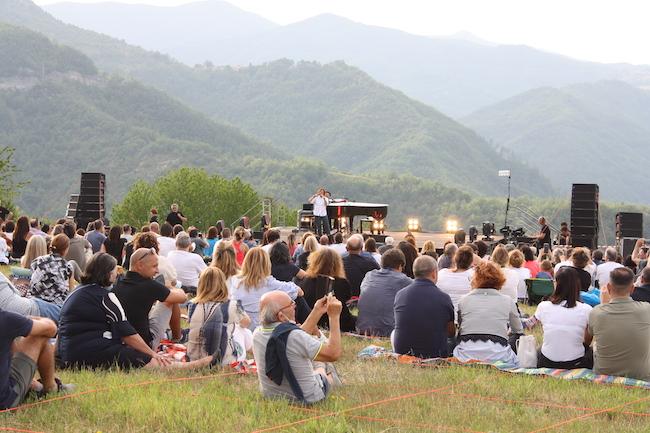Concerto di Gianna Nannini alla Piana di Elce [FOTO]