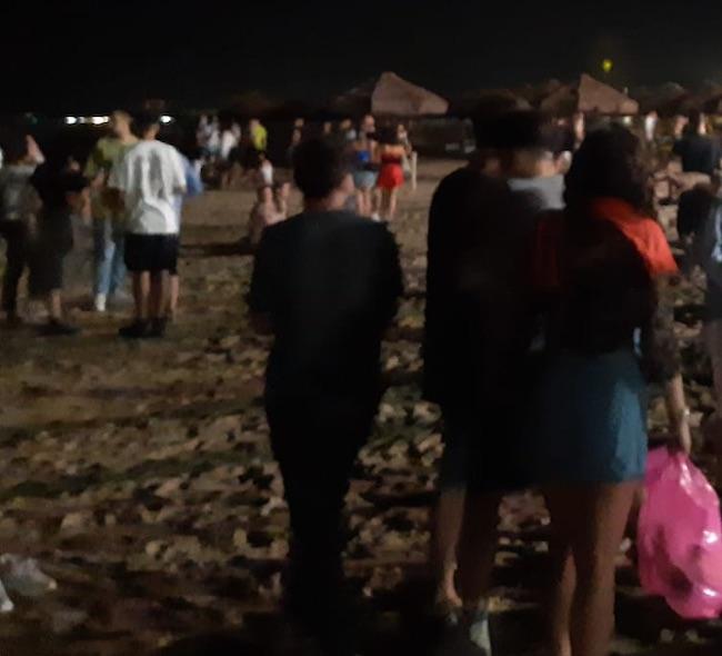 party spiaggia pescara