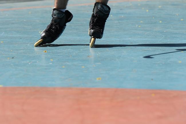pattinaggio a rotelle