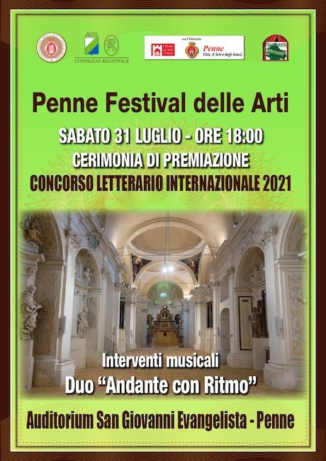 penne festival delle arti 2021