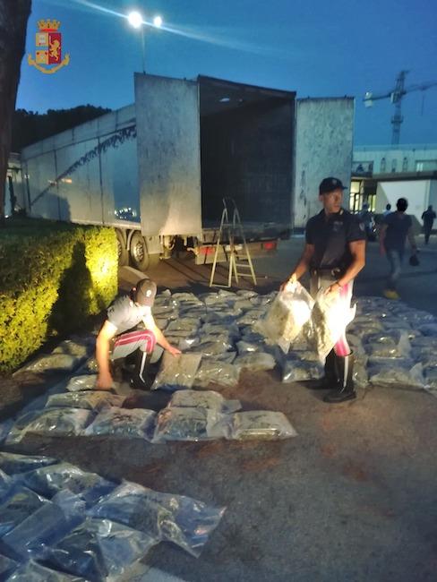 sequestro droga pescara 6 luglio 2021