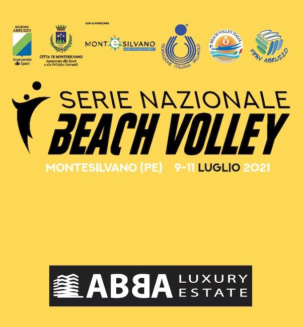 serie nazionale beach volley 2021 Montesilvano