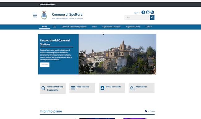 sito web comune spoltore