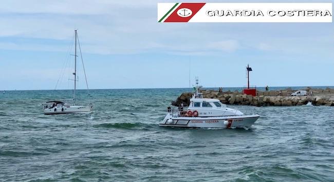 soccorso guardia costiera 16 luglio 2021