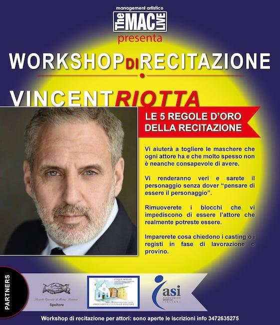 workshop recitazione riotta