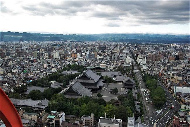 Kyoto, vista dalla torre