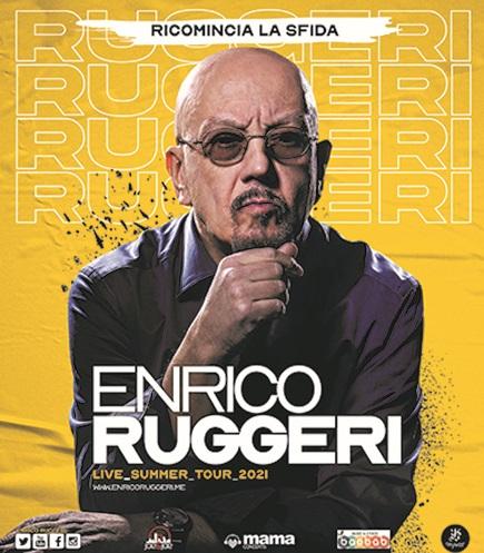 Manifesto Enrico Ruggeri - Ricomincia la Sfida 2021_FB