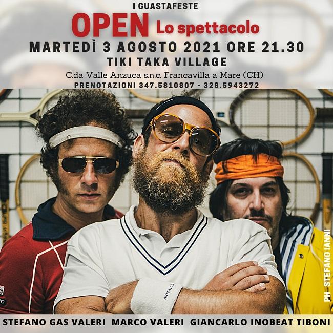 Open Lo spettacolo
