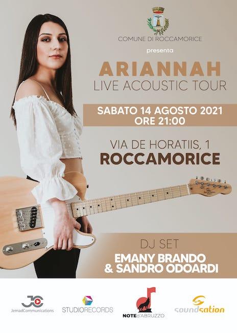ariannah roccamorice 14-08-2021