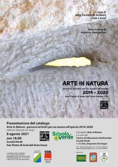 arte in natura 8 agosto 2021