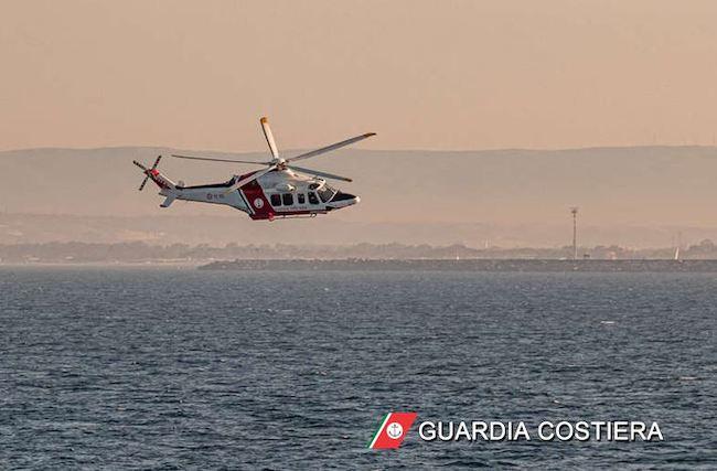 elicottero guardia costiera