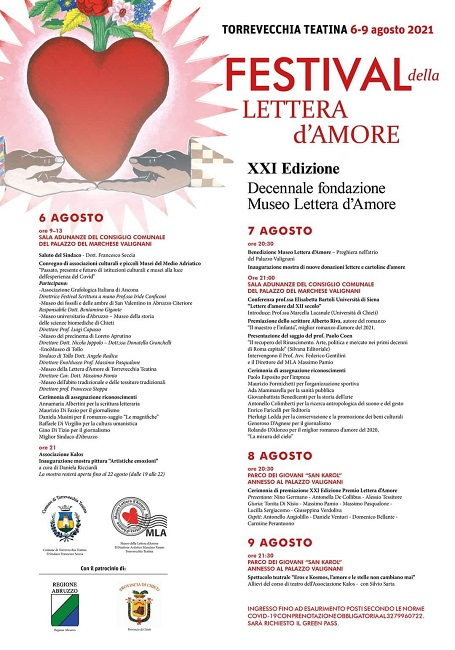 festival lettera amore