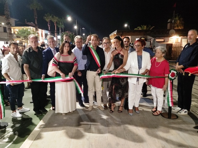 inaugurazione pista ciclabile martinsicuro