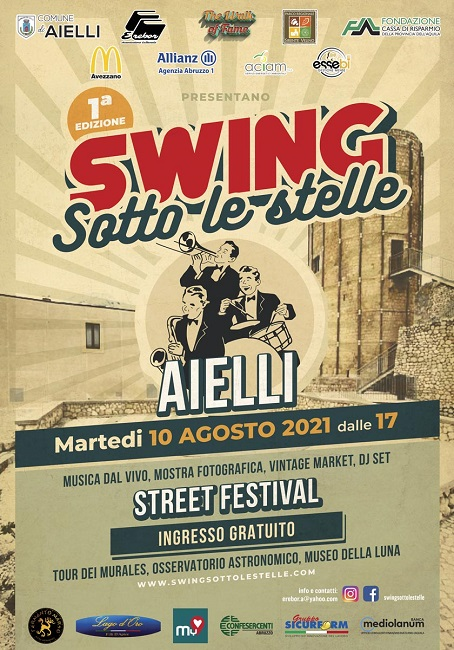 swing sotto le stelle