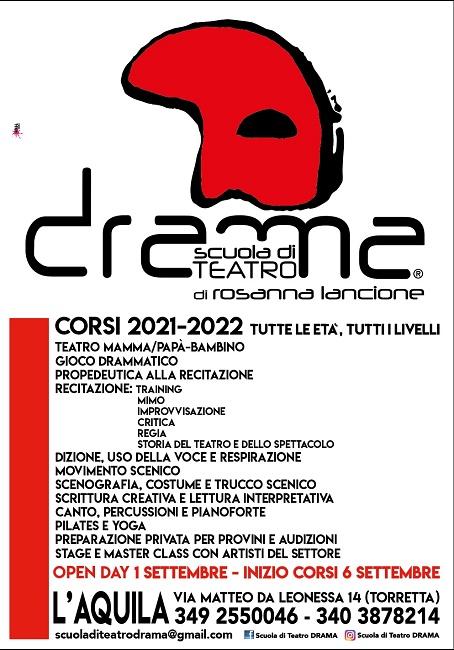 locandina DRAMA 2021-22