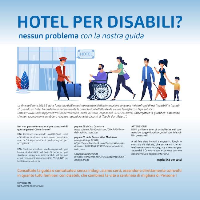 locandina hotel disabili