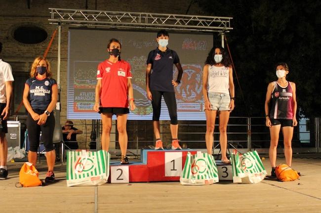 notturna atriana 2021 podio femminile