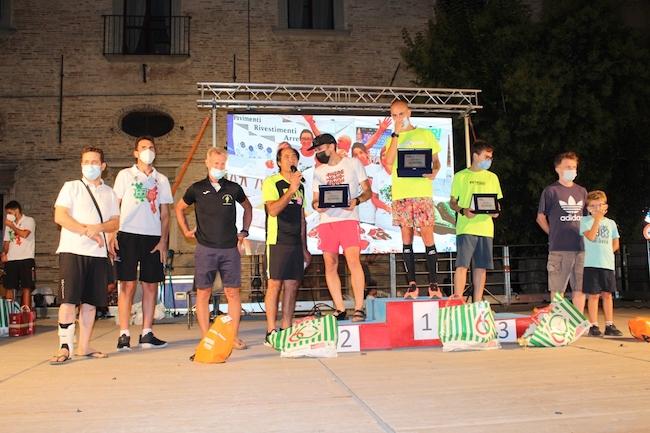 notturna atriana 2021 podio maschile