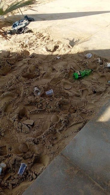 raid vandalico spiaggia accessibile