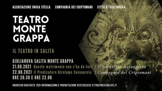 teatro montegrappa 21-22 agosto 2021