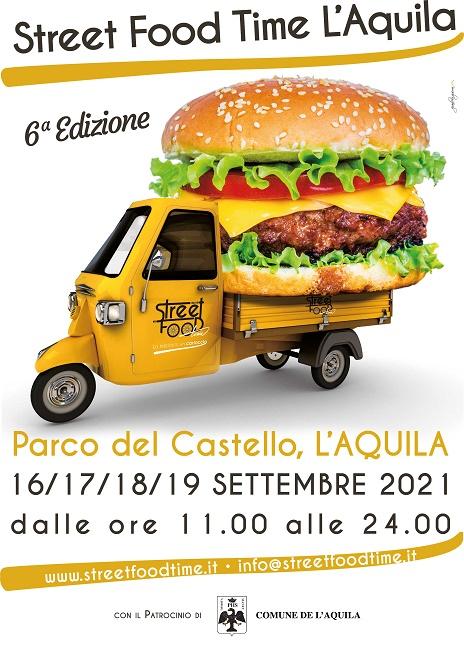 Locandina L'Aquila