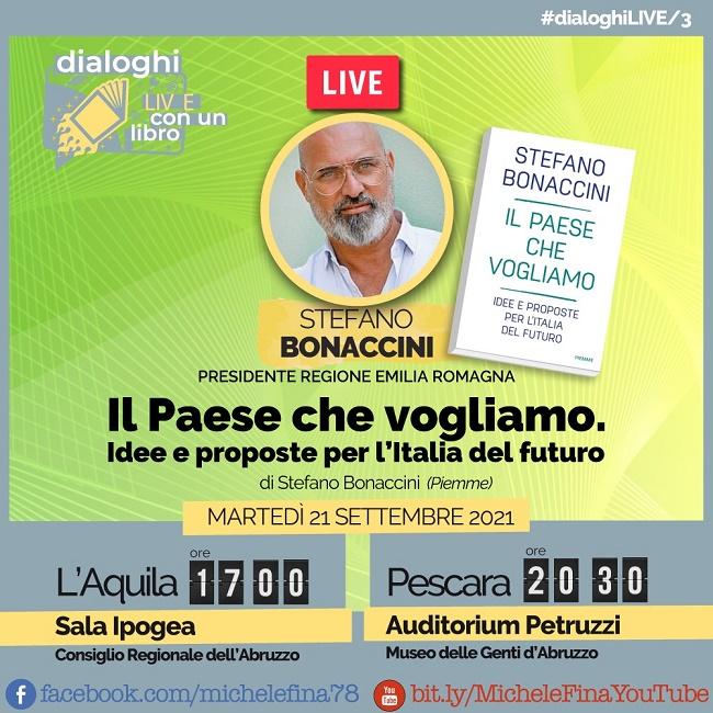 Locandina presentazioni bonaccini
