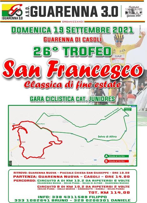 Trofeo San Francesco 19092021 locandina