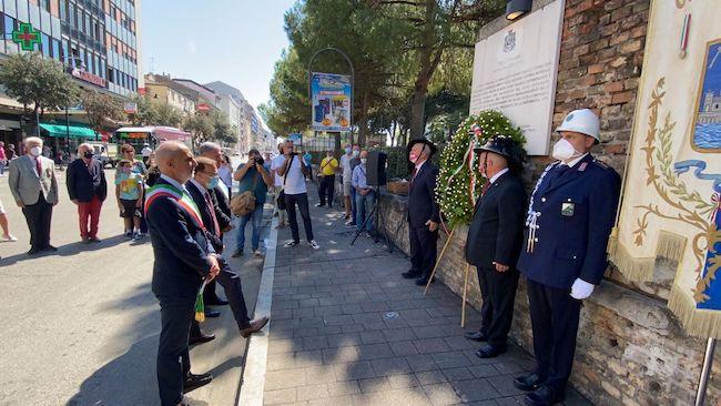 commemorazione bombardamento pescara