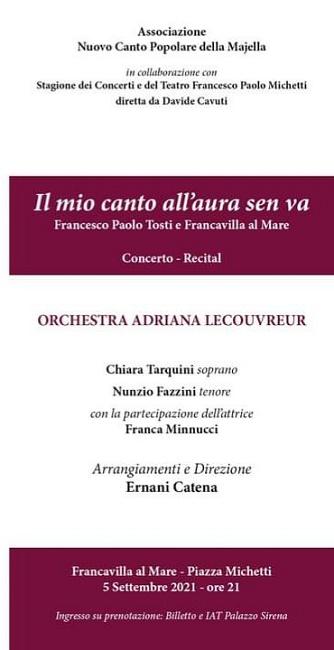 concerto adriana lecovreur